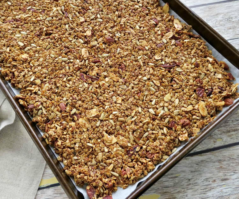 Nutty Homemade Granola Recipe Step 3