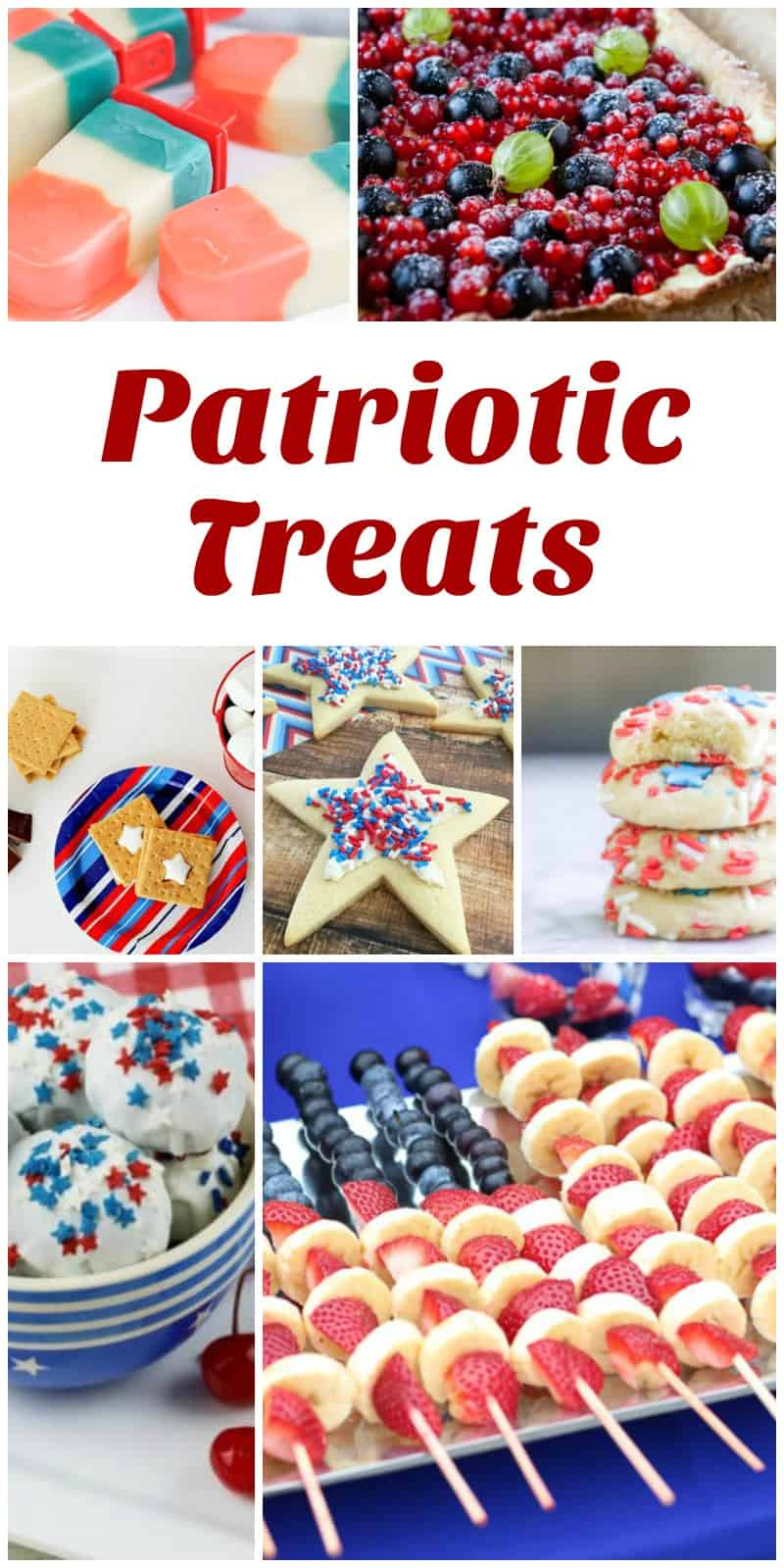 Patriotic Treats - Delicious Dishes Recipe Party