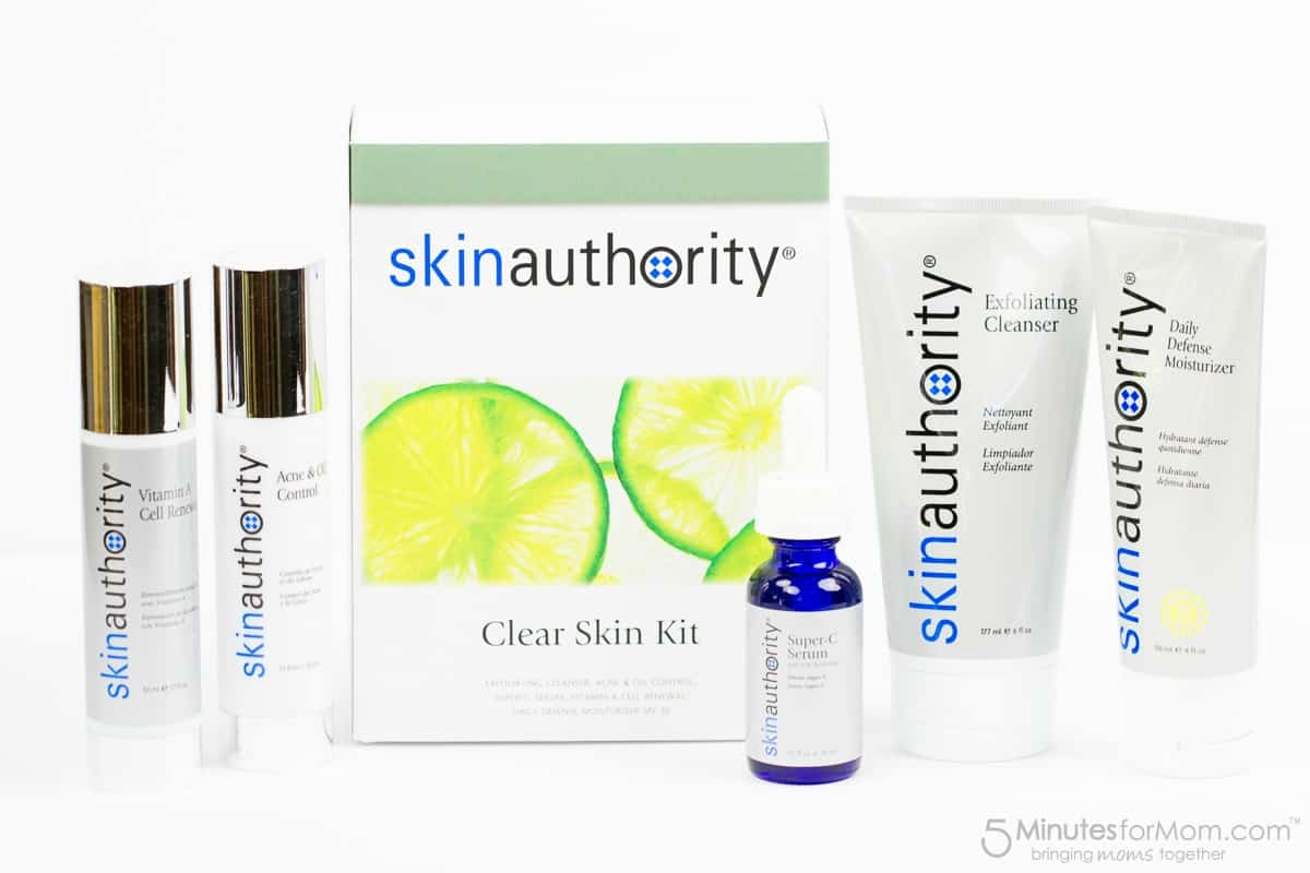 Skin Authority Clear Skin Kit