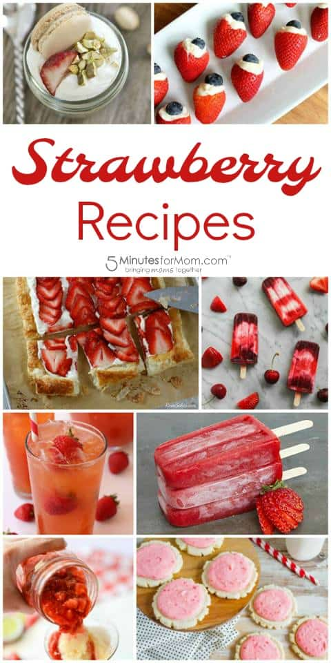 Strawberry Recipes - Delicious Dishes