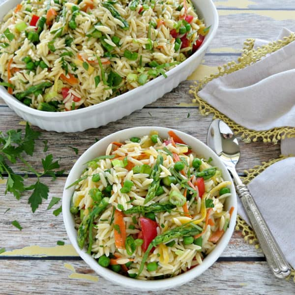 Summer Pasta Salad with Lemon Vinaigrette Recipe