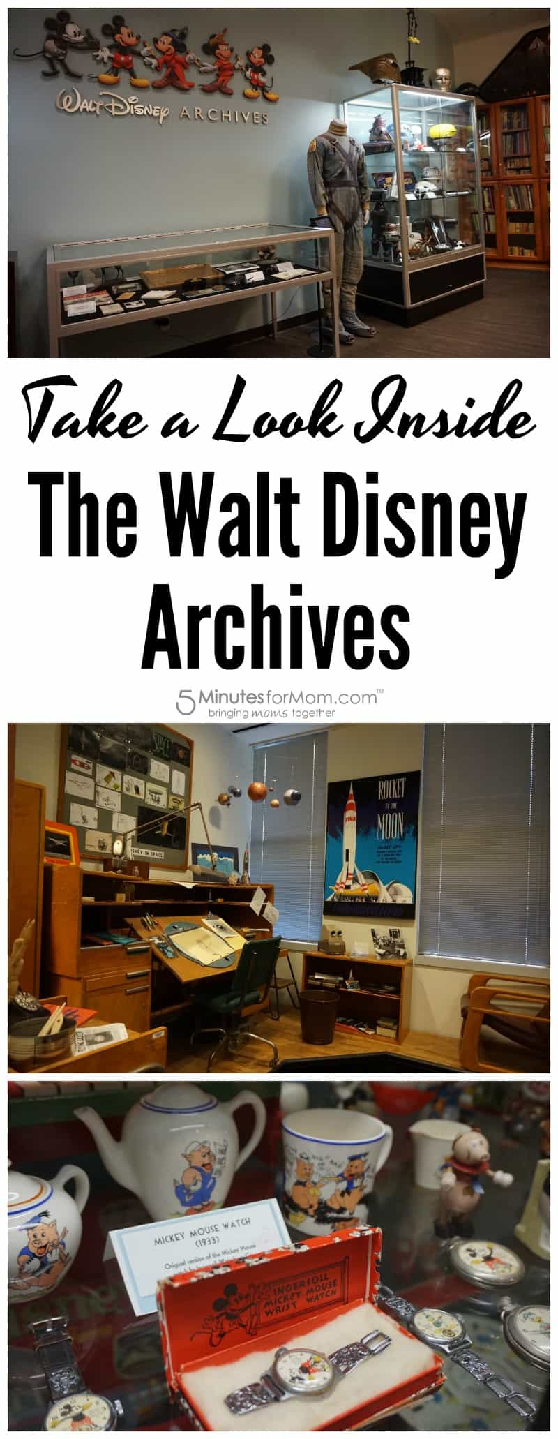 Take A Look Inside The Walt Disney Archives