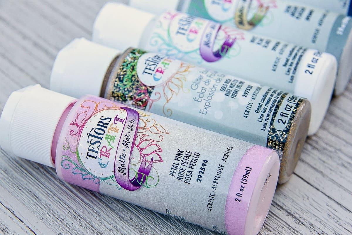 Testors Craft Paint Bottles