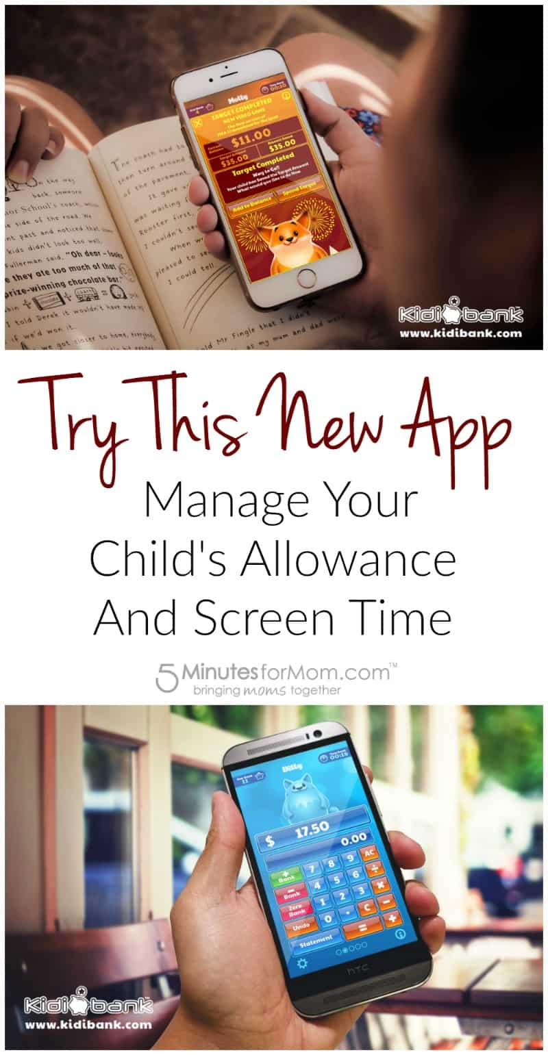 Try this new app to manage your childs allowance and screen time