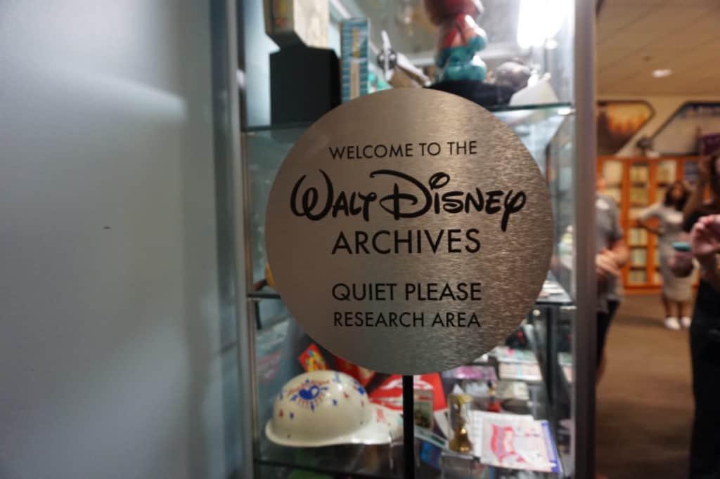 Walt Disney Archives - Quiet Please Sign