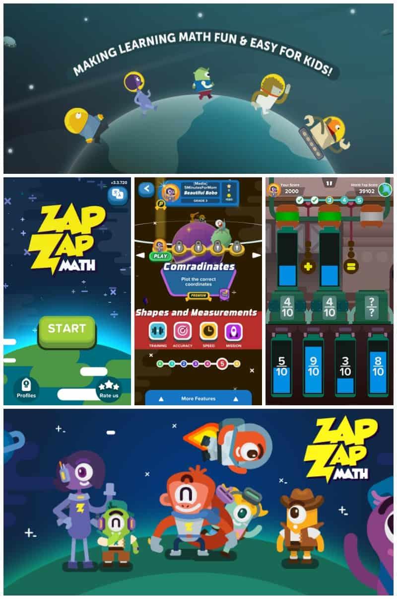 Zap Zap Math App - Make Math Fun For Kids