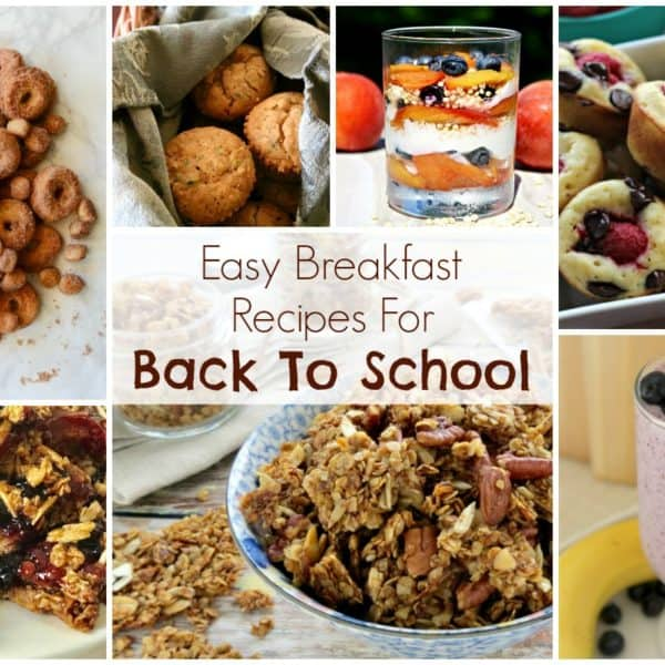 Easy Breakfast Recipes For Back To School and our Delicious Dishes Recipe Party