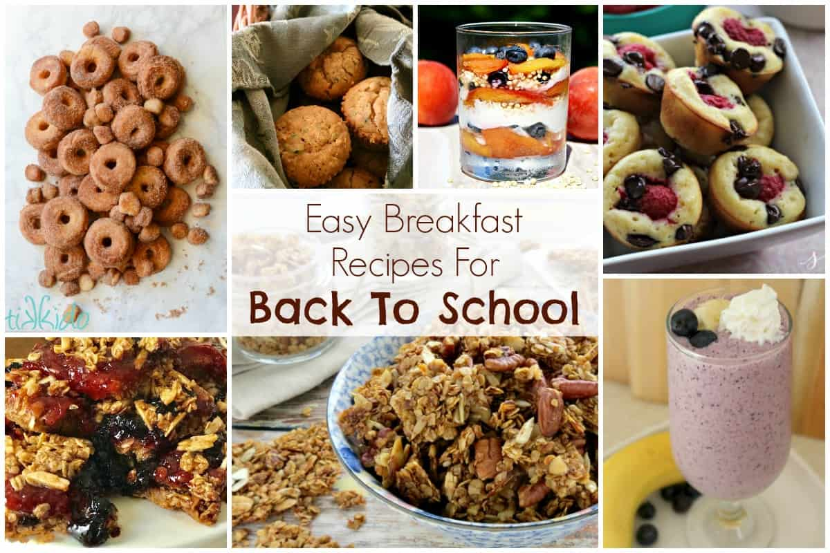 Easy Breakfast Recipes For Back To School And Our