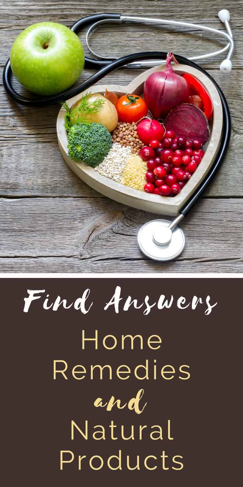 Find Answers - Home Remedies and Natural Products