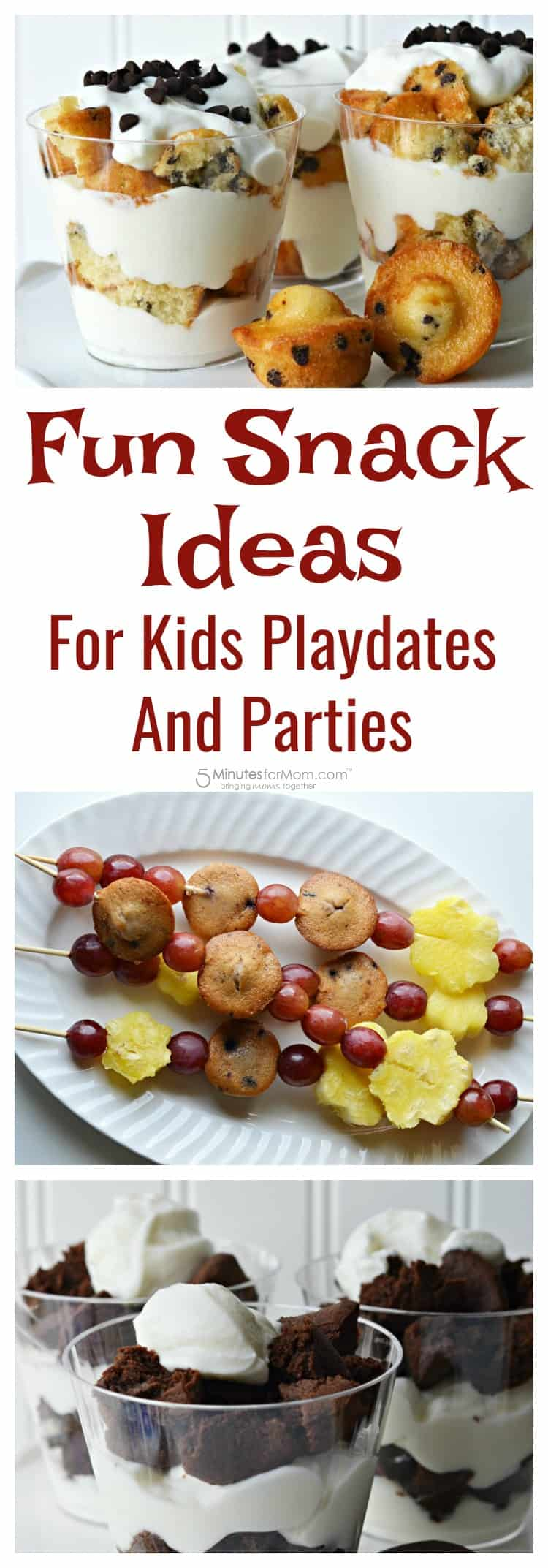 Fun Snack Ideas for Kids Playdates and Parties - Kids Snacks