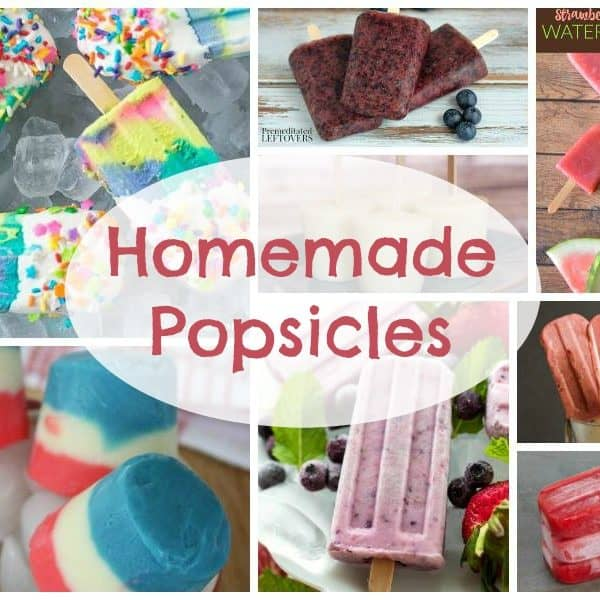 Homemade Popsicles and our Delicious Dishes Recipe Party