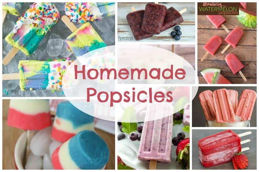 Homemade Popsicles Recipe