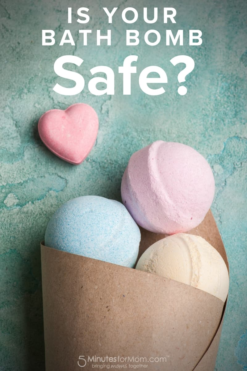 Is Your Bath Bomb Safe