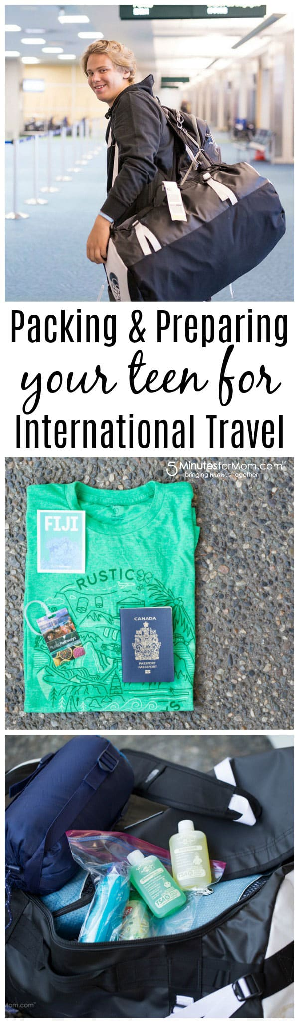 Packing and Preparing Teens for International Travel