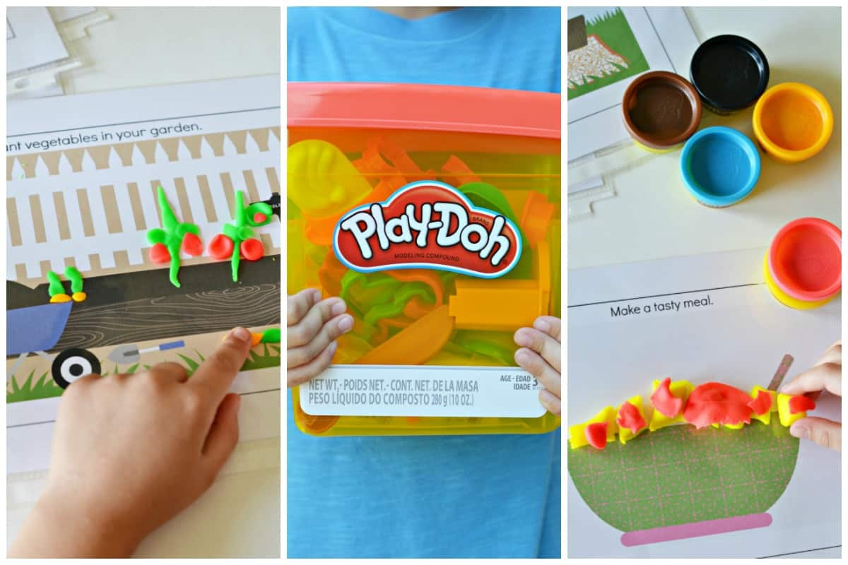 Play Doh Learning Activities Printable Mats