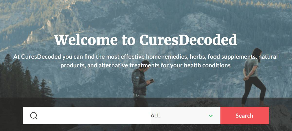 Welcome to CuresDecoded