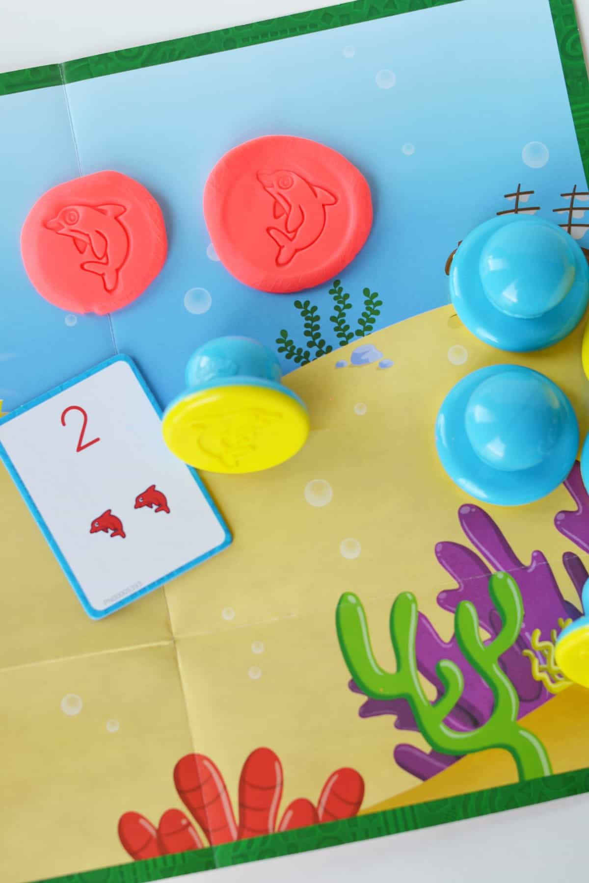 Counting With Play-Doh