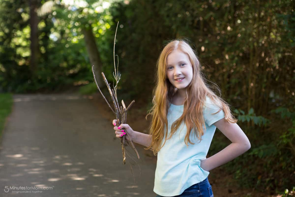 kids crafts with sticks