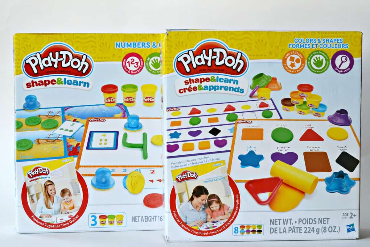 Play Doh Shape and Learn Sets