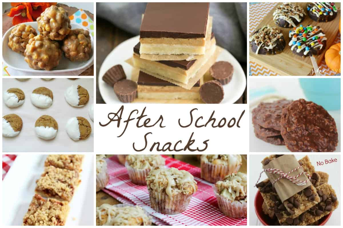 After School Snacks - Delicious Dishes
