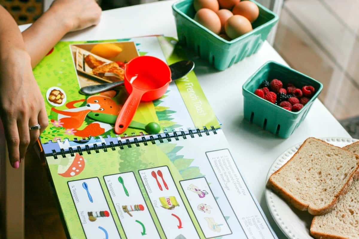 Cook By Colours - Cooking with Young Kids