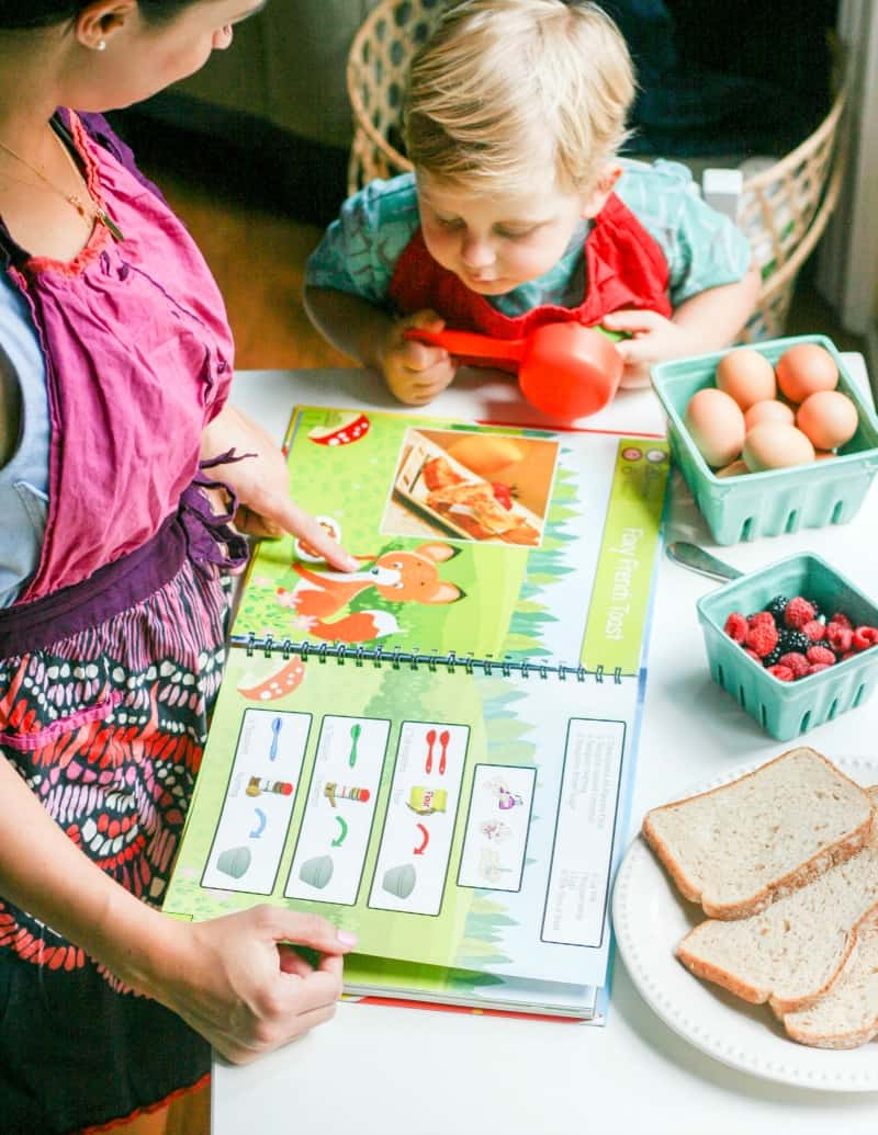 Cook By Colours - Cooking with Kids