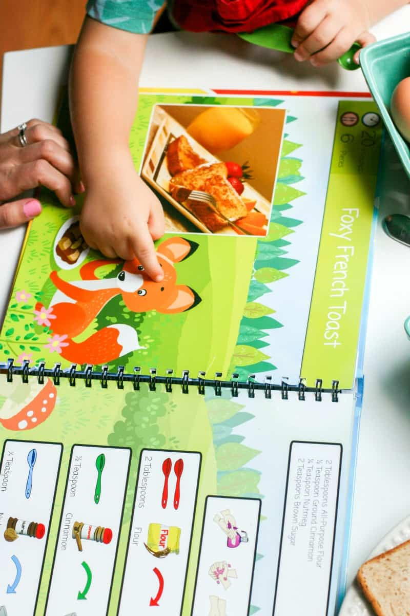 Cook By Colours - Kids Cookbook