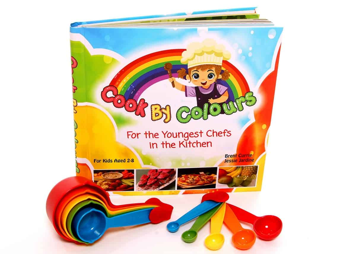Cook by Colours - For The Youngest Chefs In The Kitchen