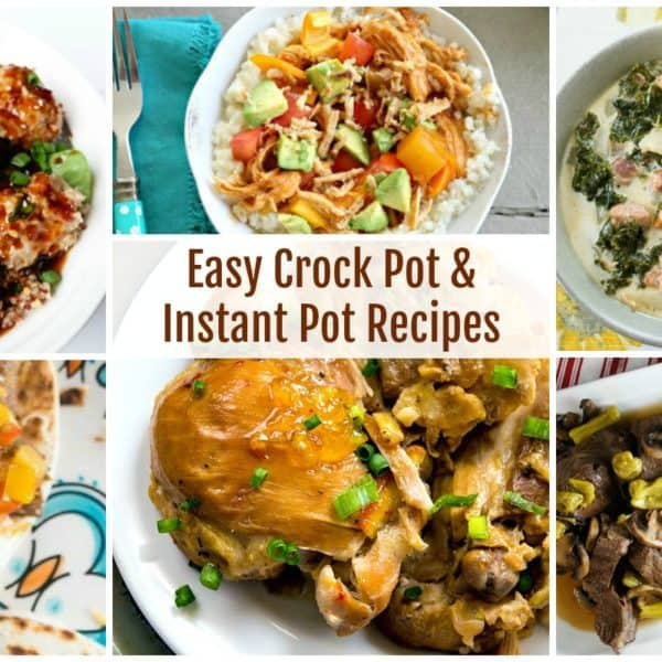 Easy Crock Pot and Instant Pot Recipes and our Delicious Dishes Recipe Party