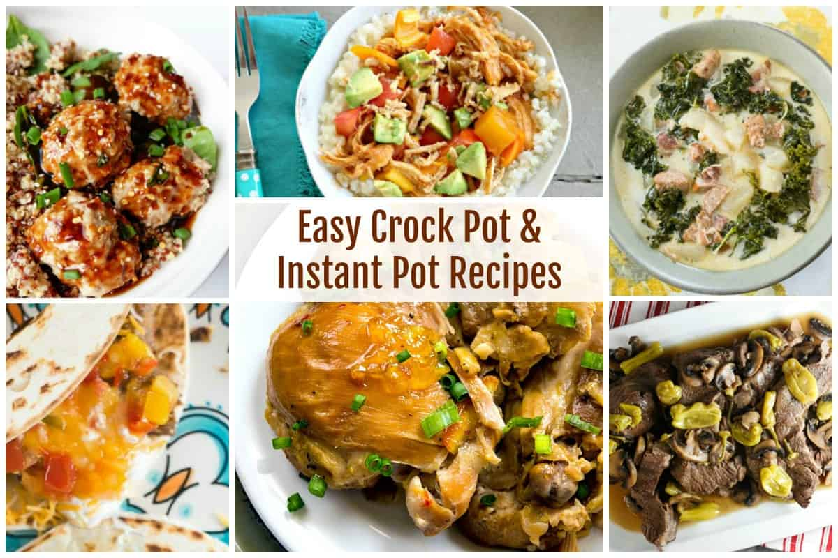 Crock Pot and Instant Pot Recipes