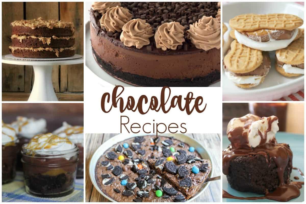 Delicious Chocolate Recipes
