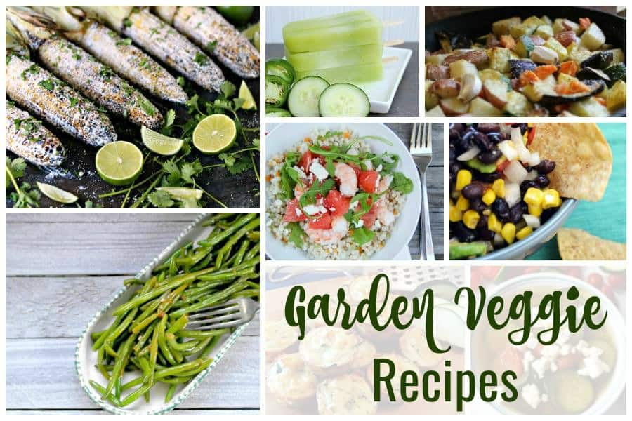 Garden Veggie Recipes and our Delicious Dishes Recipe Party - 5 ...