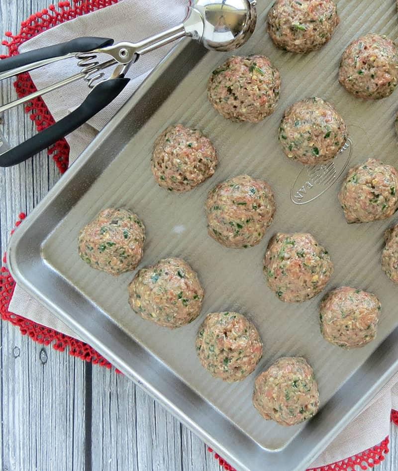 Gluten-Free Parmesan Meatballs