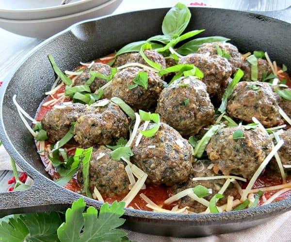 Gluten Free Parmesan Meatballs Recipe