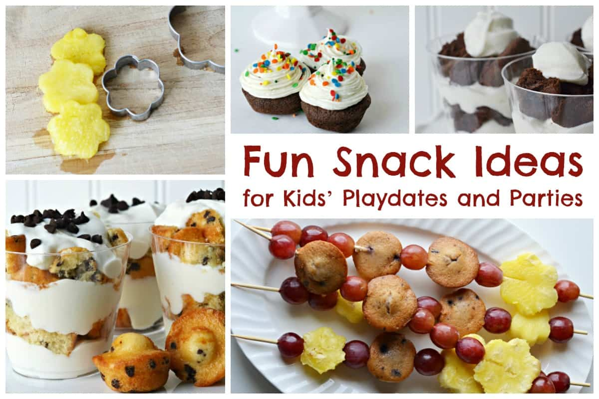 Fun Snack Ideas for Kids Playdates and Parties