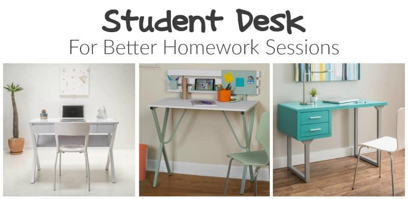 Student Desk for Better Homework Sessions