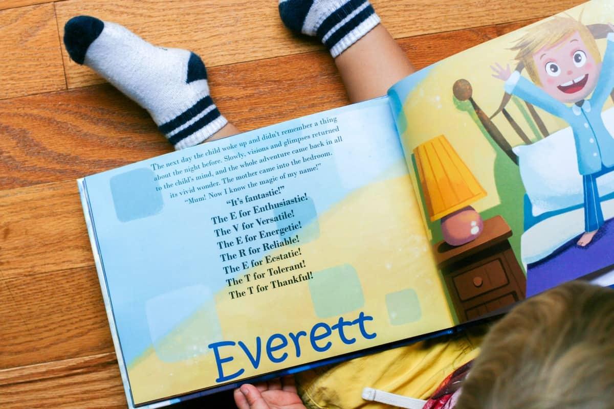 The Magic Of My Name - Everett