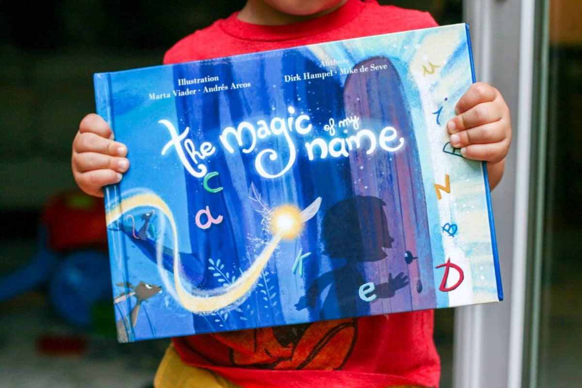 The Magic Of My Name - Personalized Childrens Book