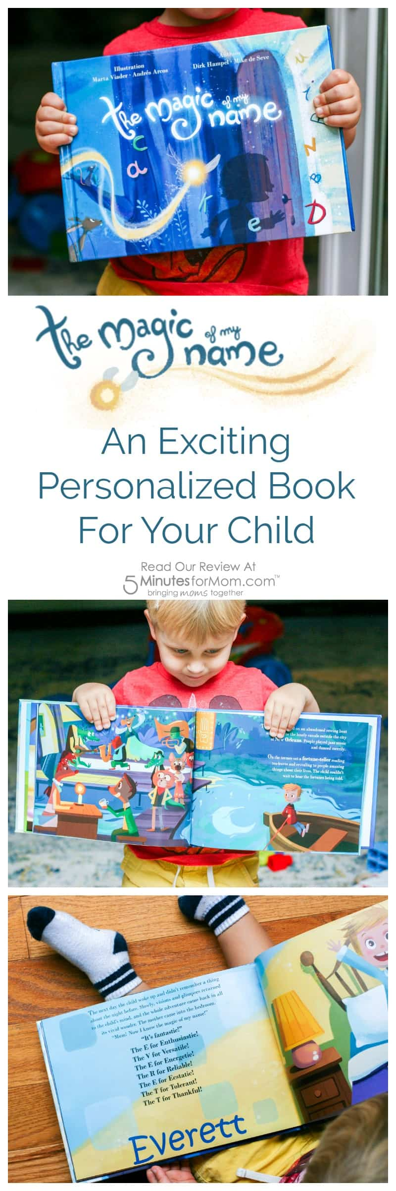The Magic of My Name - An Exciting Personalized Book For Your Child - Book Review