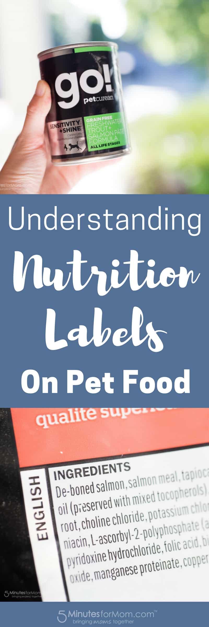Understanding Nutrition Labels on Pet Food #Pets #Dogs