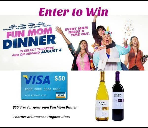 Win a $50 Visa and Cameron Hughes wine for your own #FunMomDinner