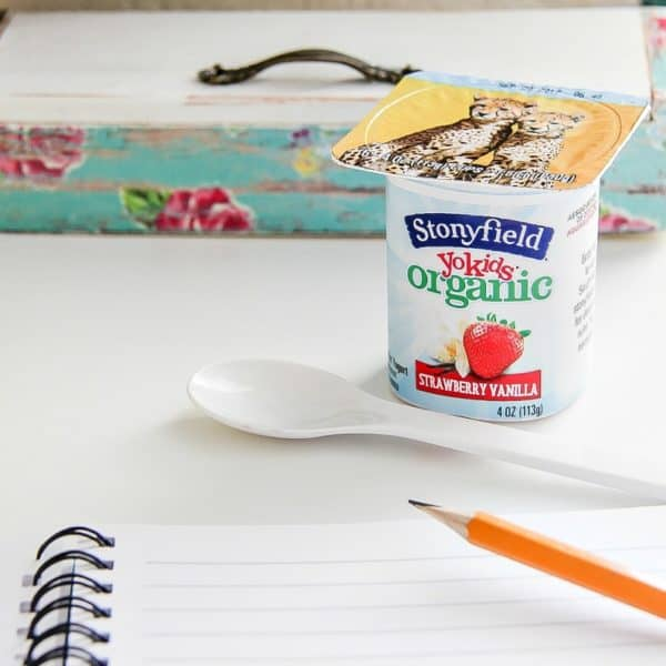 Making Back To School Easy with Stonyfield YoKids Organic