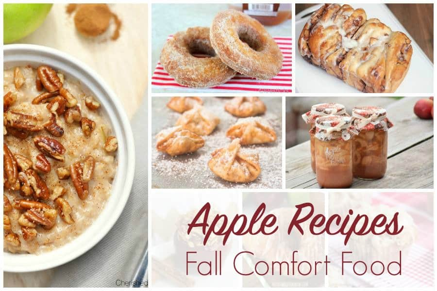 Apple Recipes - Comfort Food for Fall