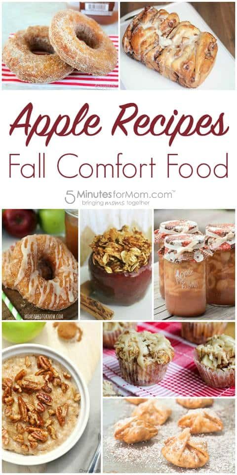 Apple Recipes Fall Comfort Food