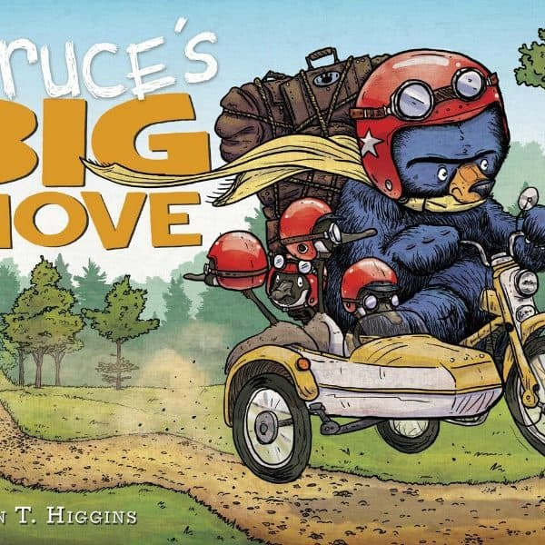 Tag Along on #BrucesBigMove #Giveaway