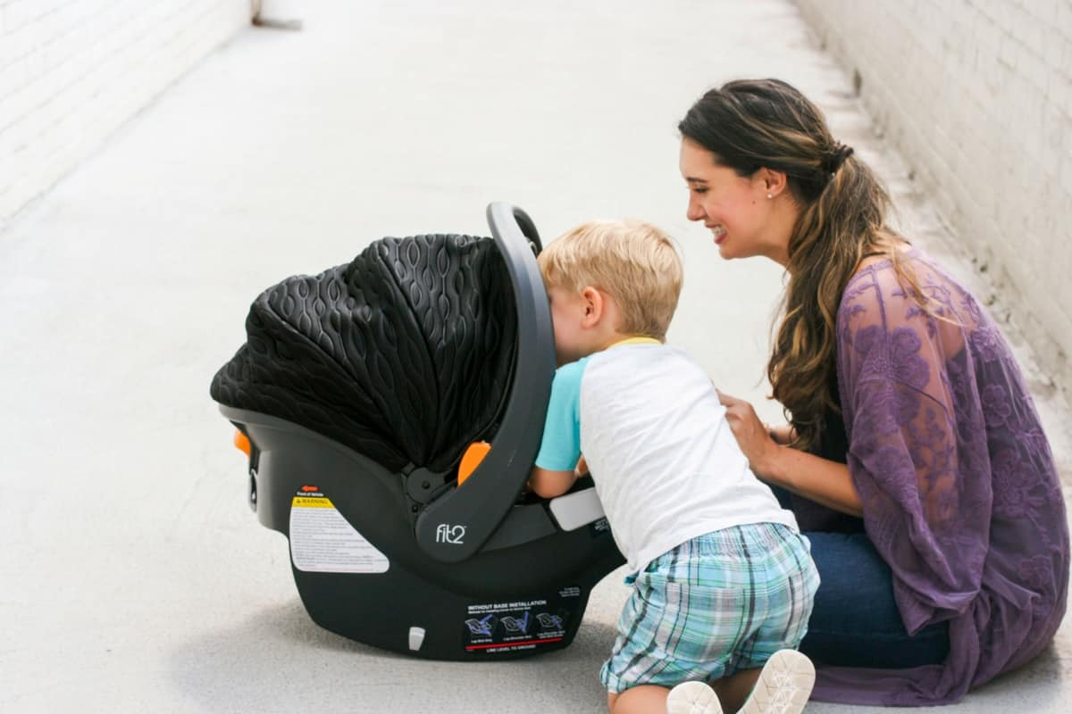 Chicco Fit2 Car Seat 1