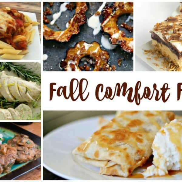 Fall Comfort Foods and our Delicious Dishes Recipe Party