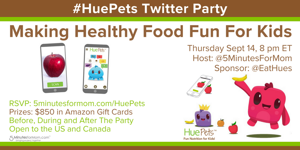 HuePets Twitter Party Invite
