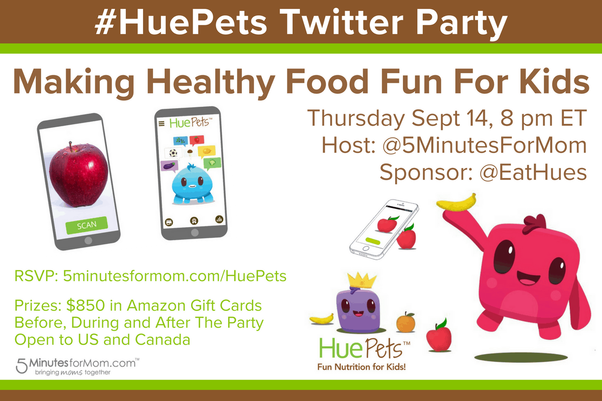HuePets Twitter Party
