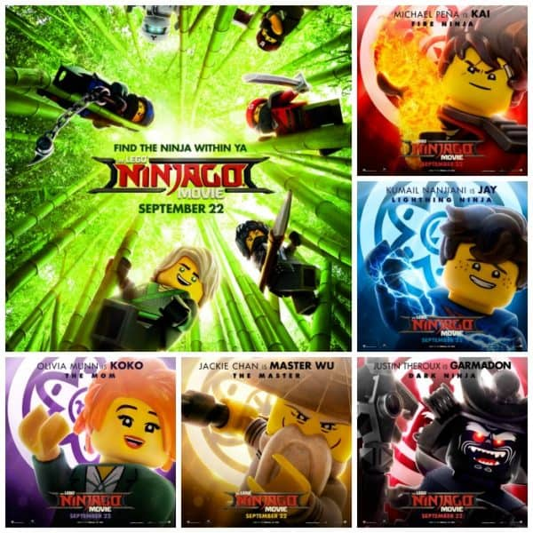 LEGO NINJAGO Movie {#Giveaway}